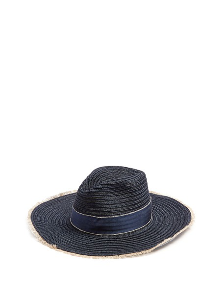 FILÙ HATS hat straw hat navy