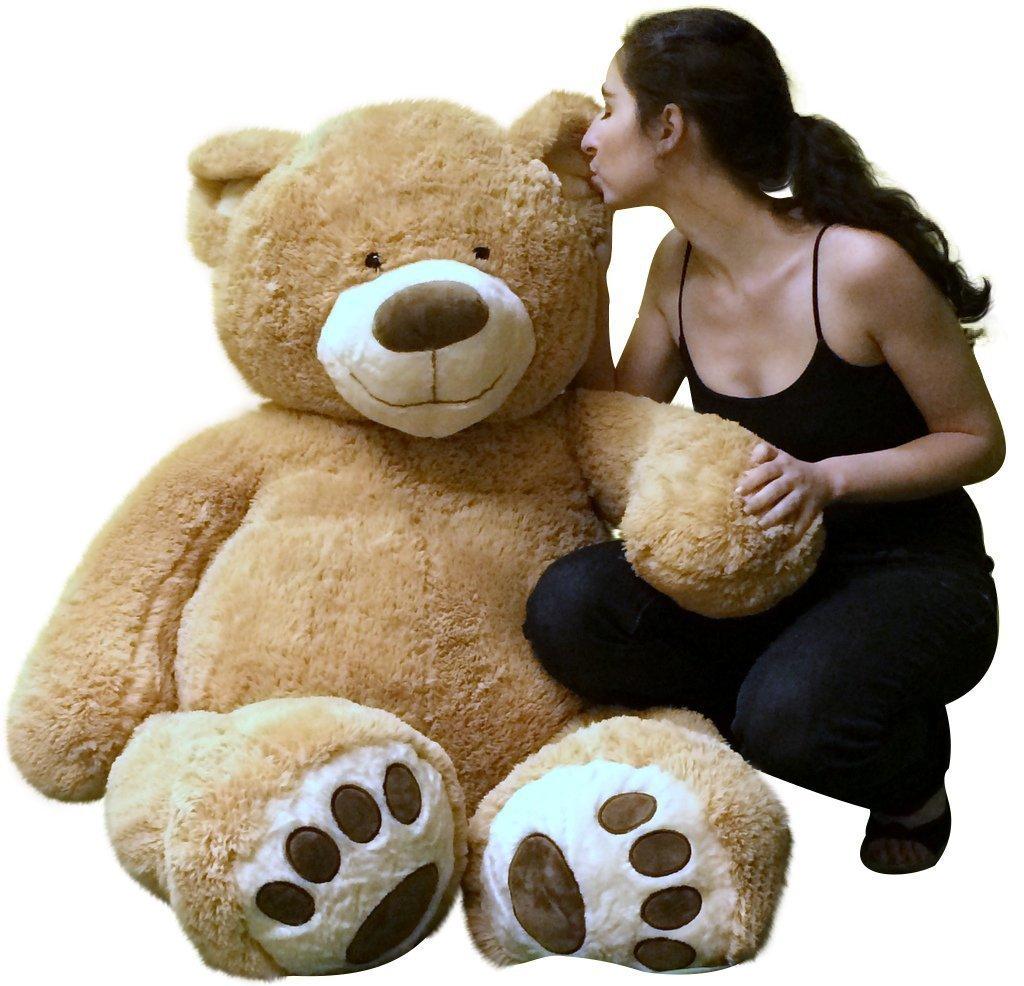 Giant stuffed teddy bear - photo#5