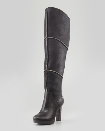 UGG Australia | Dreaux High Heel Knee Boot, Black - CUSP