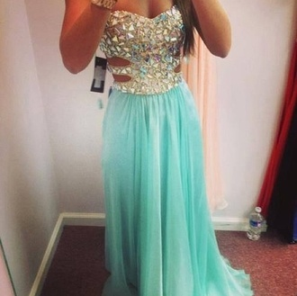 dress blue and sequin long dress love it helpmefindthis sexy prom dress purple turquoise popular cheap amazing i really want it