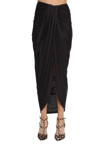 skirt maxi skirt black skirt black boho festival