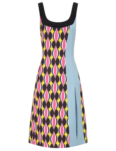 Jonathan Saunders dress sleeveless hot pink hot pink