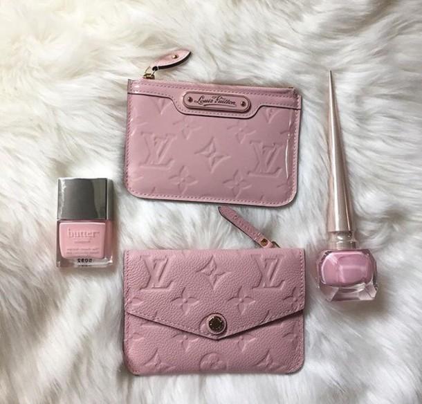 1219dc7e766b bag wallet pink pink wallet small wallet coin purse louis vuitton louis  vuitton bag matching set
