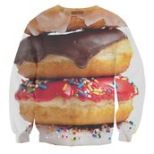 jacket,sweatshirt,donut,crewneck,graphic tee,sweater,graphic sweater,holidays,cute,easter,hat