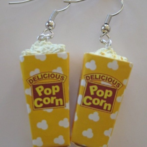 jewels pop corn earings