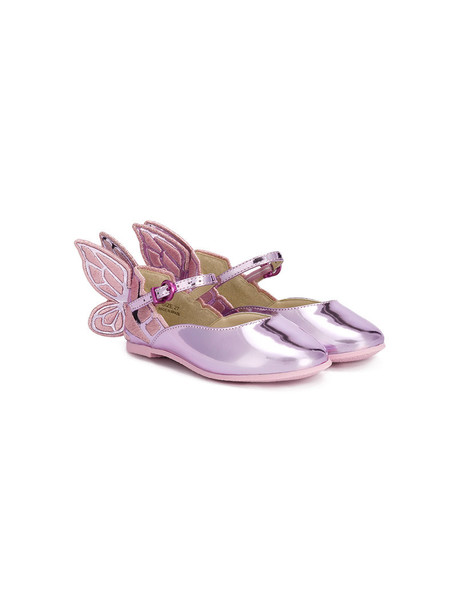 Sophia Webster Mini leather purple pink shoes