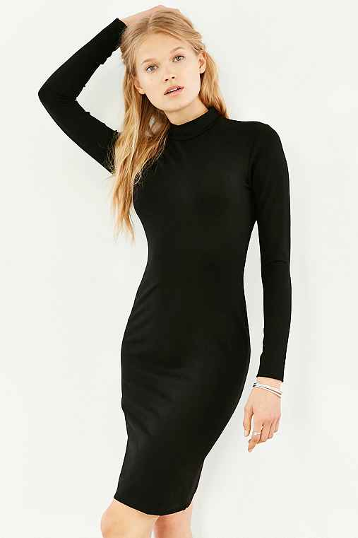 535fd3cda5974b Silence Noise Turtleneck Bodycon Dress - Urban Outfitters