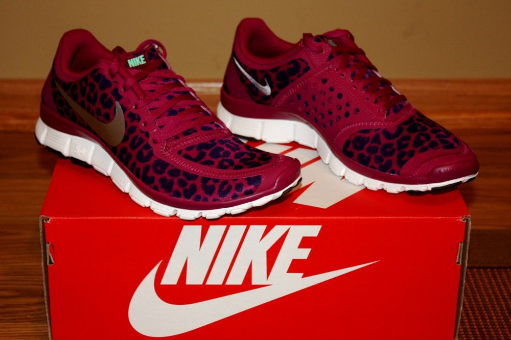 sneakers for cheap cdcea 91e8d Leopard Nike Shoes Size 5