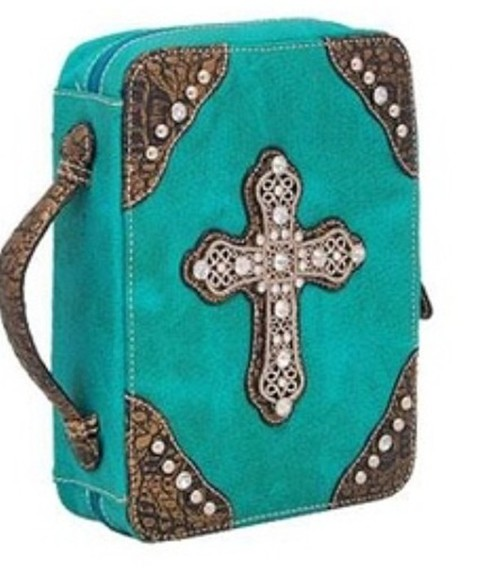 pearls bag bible religiuos cross