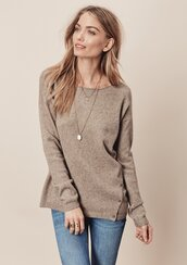 sweater,lovestitch,boho,boho chic,classic,taupe,shoplovestitch,buttons,details,detail,light brown,chic,pullover,fall outfits,fall hues,fall colors,holidays
