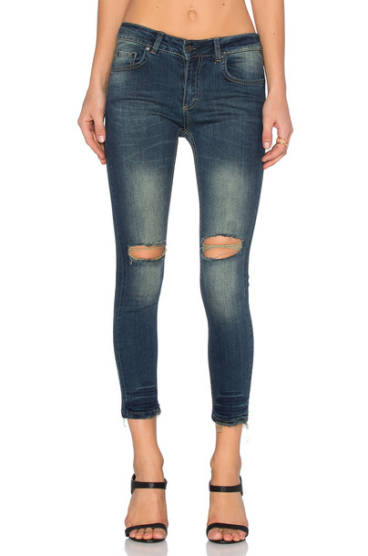 Sincerely Jules jeans blue jeans blue