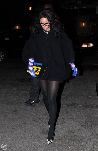 bag rihanna chanel chanel bag shoes gloves