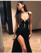 dress,beautiful,pretty,black,glitter,gala,class,classy,sexy,@wolfiecindy,wolfiecindy,black dress
