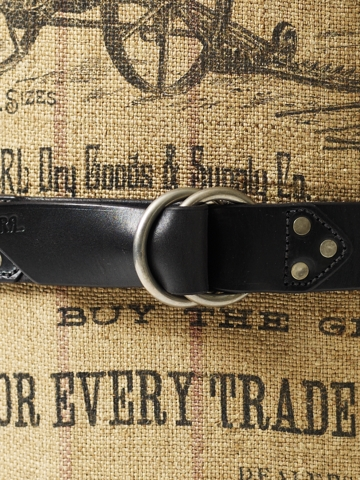 Leather Double-O-Ring Belt - Belts    CONCEPT_SHOP_3 - RalphLauren.com