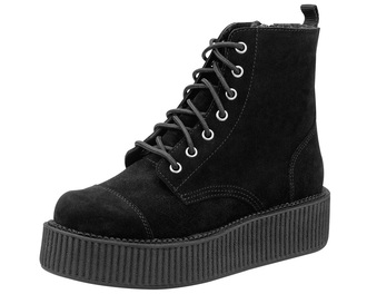 shoes grunge boots black creepers black creepers tuk creepers