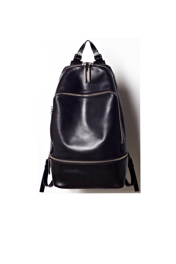 bag leather leather bag backpack