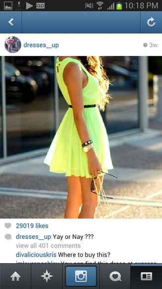dress chic muse lime green spring trends 2014 flowy cute dress light green summer dress