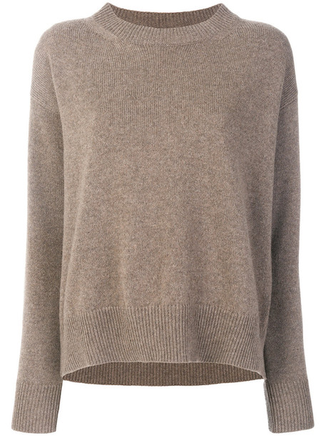 sweater women classic brown
