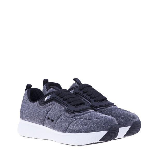 Prada Linea Rossa sneakers silver shoes