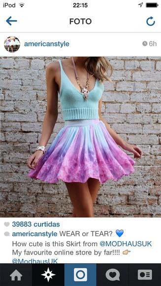 dress skirt blonde hair