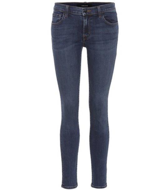 J BRAND jeans skinny jeans blue