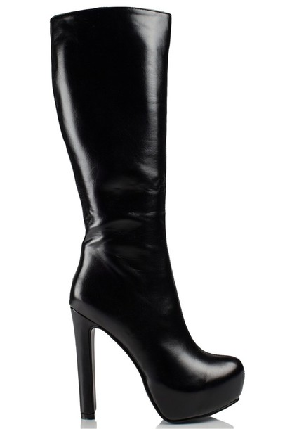 Shoes: boots, daisy street, platform shoes, knee high boots, pu ...