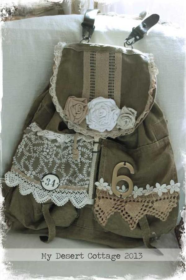bag lace soft grunge backpack