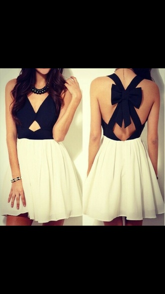 white dress cut-out dress black dress short dress open back dress flowy dress
