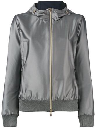 jacket women spandex grey