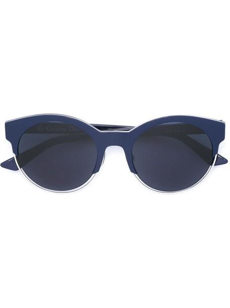 Dior Eyewear - 'Sideral 1' sunglasses - women - Acetate - One Size, Blue, Acetate