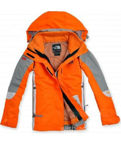 Womens Orange Hyvent North Face Jacket Bj130244