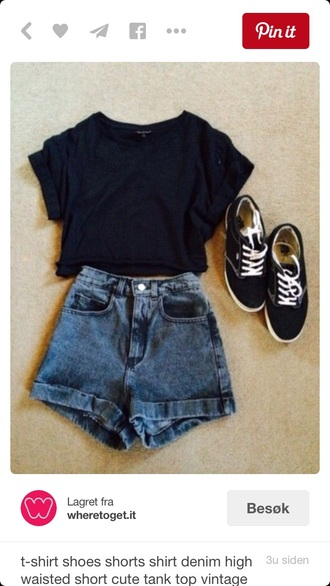 t-shirt dark blue summer outfits summer top blue