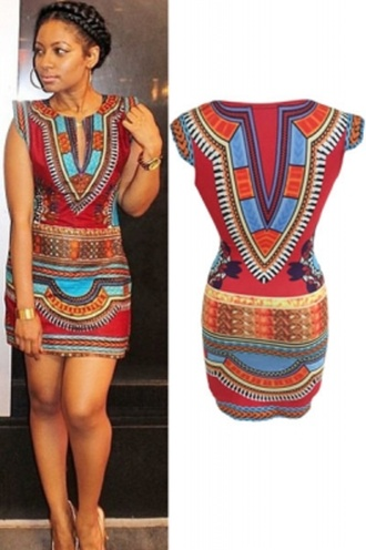 dress print mini dress pink sexy party dresses wots-hot-right-now tribal pattern cap sleeves colorful printed sweater party dress