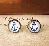 jewels,earrings,retro,blue