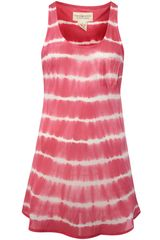 Denim and supply ralph lauren sleeveless tie dye vest tank top in red (pink)