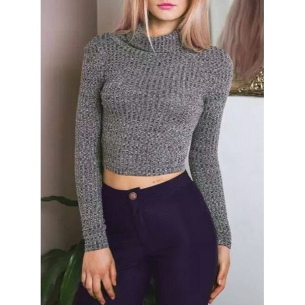 Simple Grey Sweater