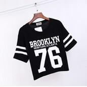 top,brooklyn,black,cropped,croptoptshirt
