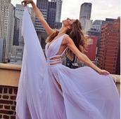 chiffon dress,lilac,lilac dress,lavender prom dresses,lavender,lavender dress,chiffon,long prom dress,prom dress,prom,formal dress,dress,wedding dress,purple dress,purple,long dress,prom dress cutout lavender,cut-out,flowy,boho,lavender prom dress cutout,dress with side cutouts,cute dress with back cut outs,style,black dress,fashion,little black dress,pretty,graduation dress,pastel,spring,beautiful,maxi dress,strappy,elegant,prom gown,lilac chiffon prom dresses