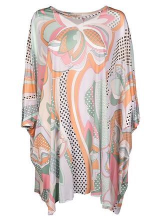 blouse printed blouse multicolor top