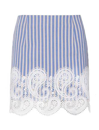 skirt mini skirt summer skirt matching set ootd stripes pixiemarket striped skirt detailed skirt matching separates