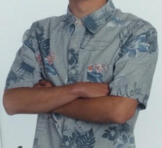 shirt blue men's hawaiian kohls button down shirt mens shirt menswear