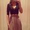 Beautiful v neck lace and chiffon bandage dress