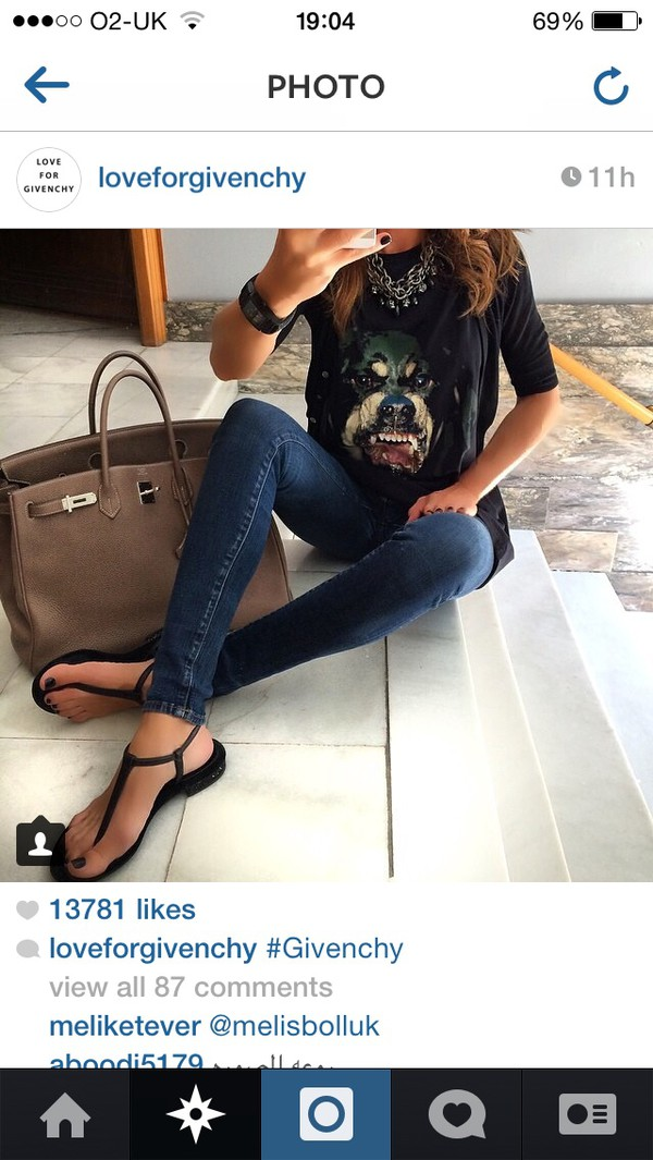 t-shirt givenchy tshirt shoes bag