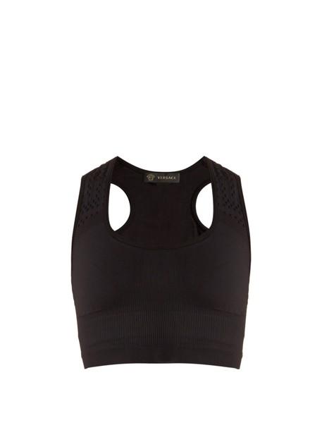 VERSACE bra black underwear