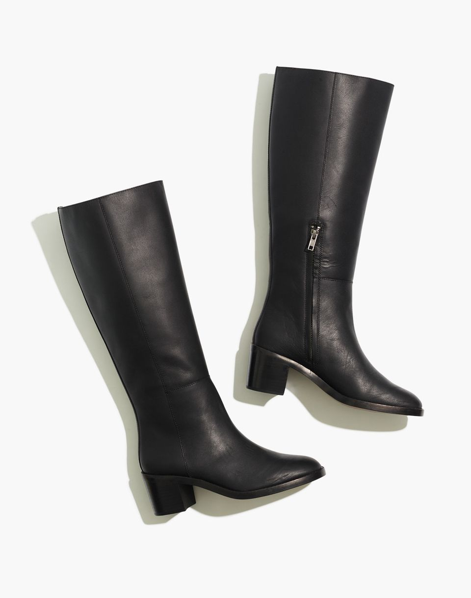 The Francie Tall Boot with Extended Calf