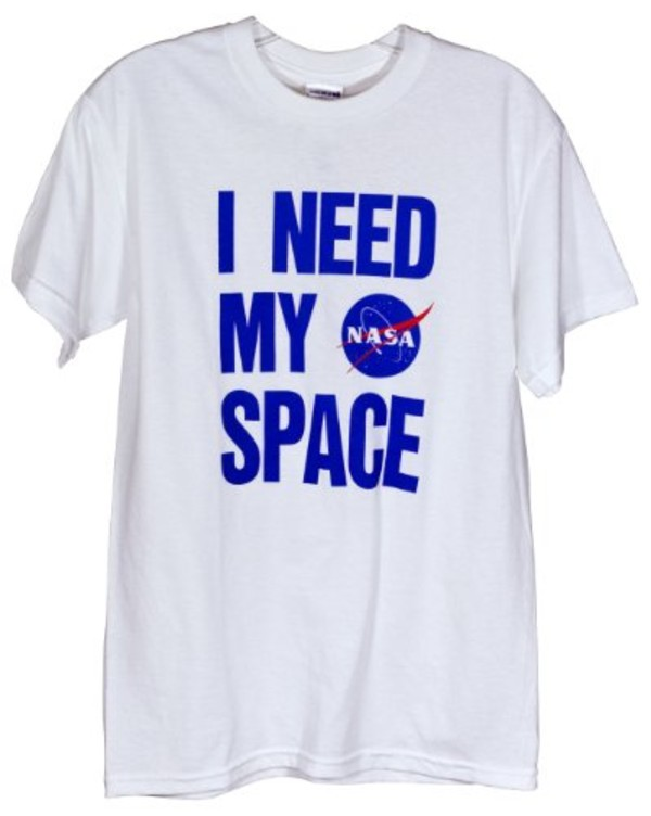 sweater nasa space white t-shirt