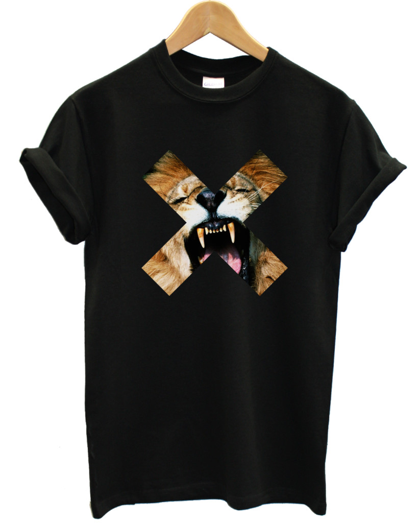 Lion cross t shirt