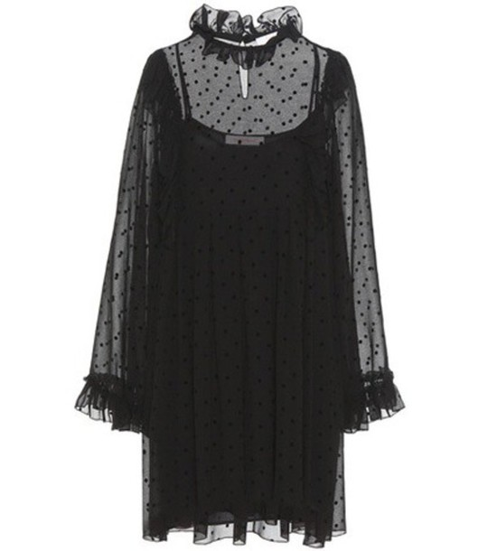 See By Chloé Crêpe Dress in black