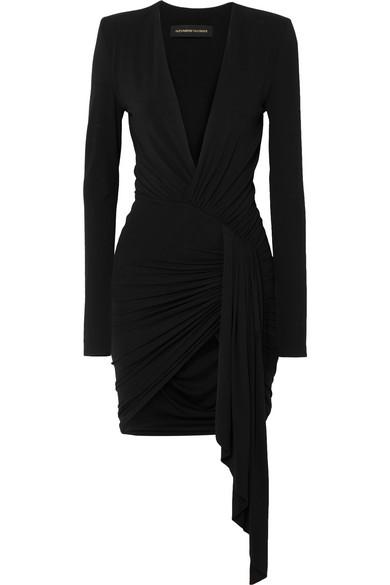 Alexandre Vauthier - Asymmetric stretch-jersey mini dress