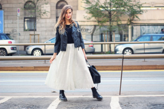 jacket drmartens t-shirt blogger fashion quite maxi skirt perfecto